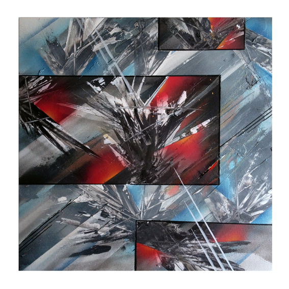 Elemental  Giclée Print. 300 GSM Somerset art paper 40cm x 40cm Signed & Numbered Edition of 10 £50 http://cageone.bigcartel.com